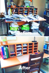Before and After Organization Goals